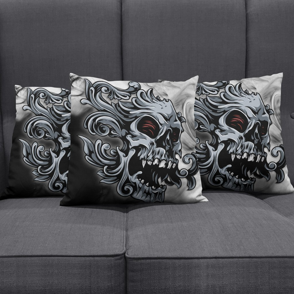 Image of: Smoked Skull Pillow