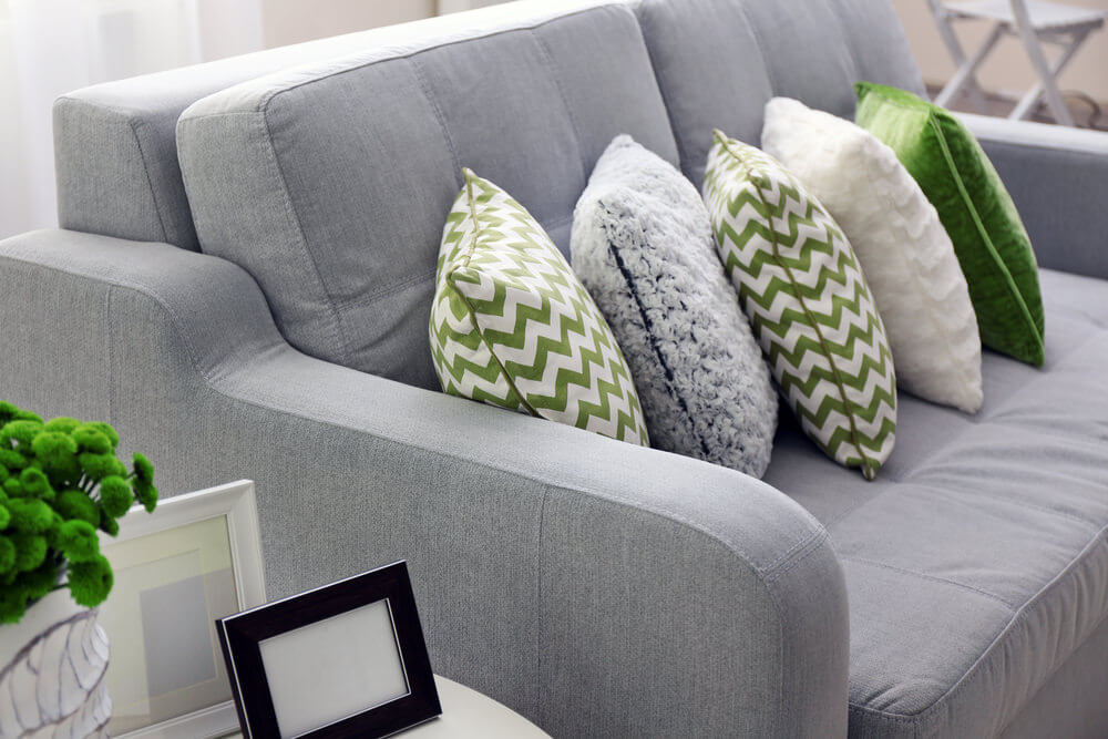 Image of: Sofa Pillows Design