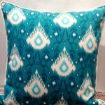 Solid Turquoise Outdoor Pillows