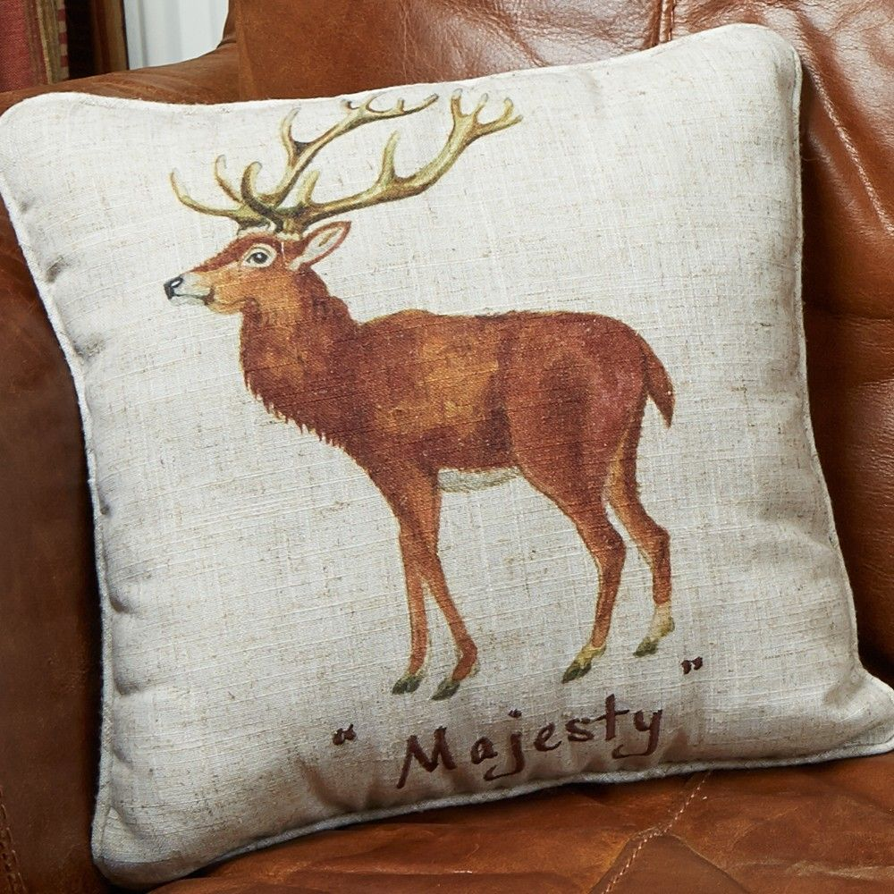 Image of: Stag Pillow Design Ideas