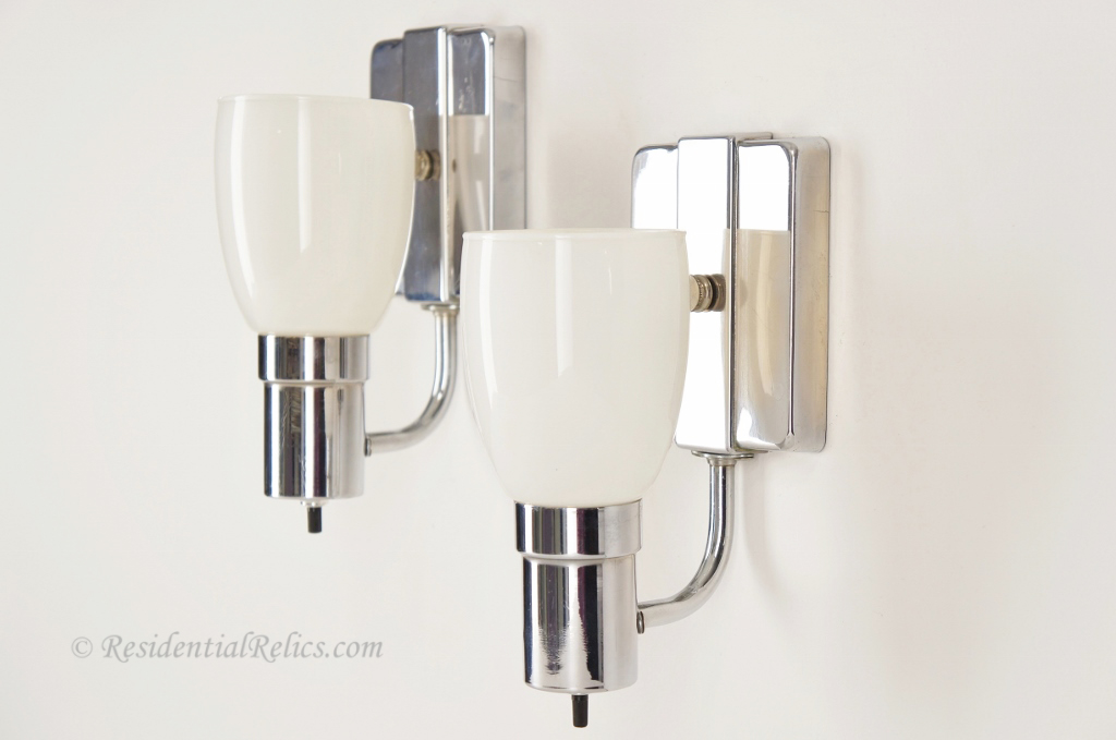 Image of: Stained Glass Sconce Shades