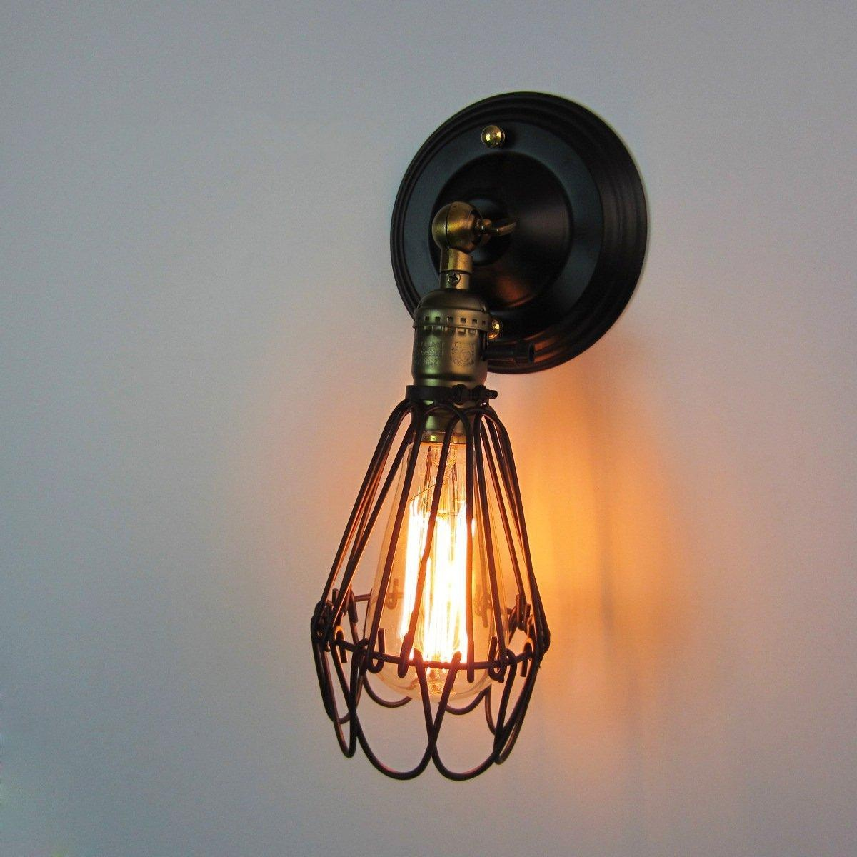 Image of: Stylish Cage Sconce