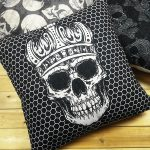 Stylish Skull Pillow