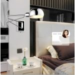 Swing Arm Bedside Wall Sconces