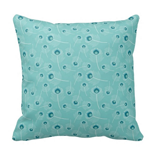 Image of: Teal Green Throw Pillows Designs Ideas