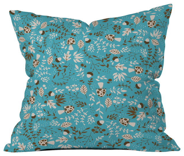 Image of: Teal Throw Pillow Sets Designs Ideas
