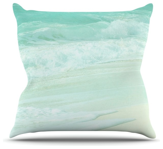 Image of: Teal Throw Pillows For Bed Designs Ideas