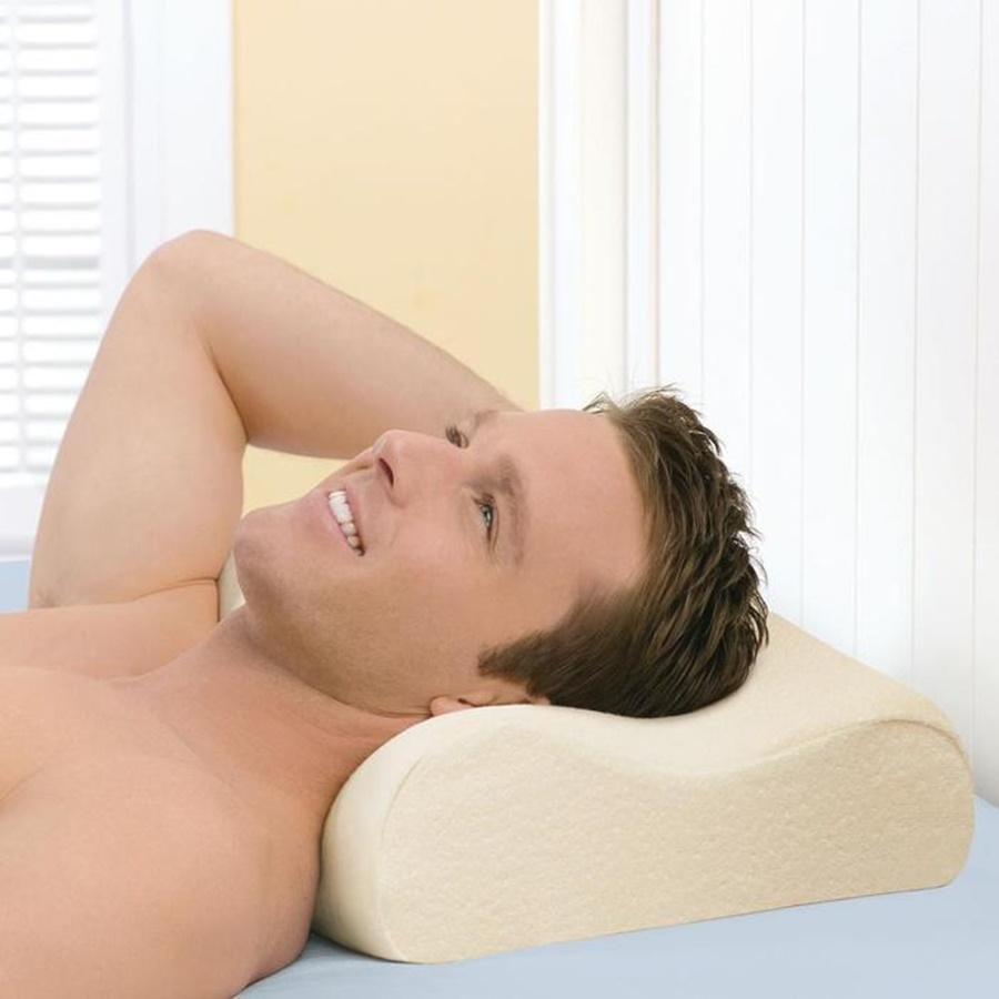 Image of: Tempurpedic Neck Pillow Pain