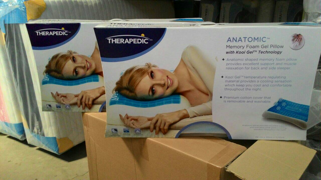 Image of: Therapedic Pillow