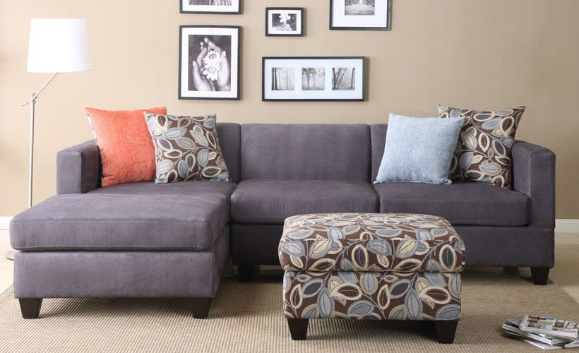 Image of: Throw Pillows for Couch Flowers