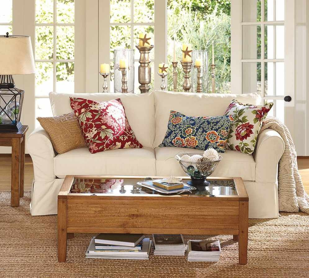 Image of: Throw Pillows for Couch Spring