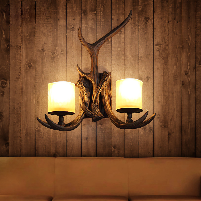 Image of: Top Antler Sconces