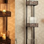 Top Candle Wall Sconces Wrought Iron