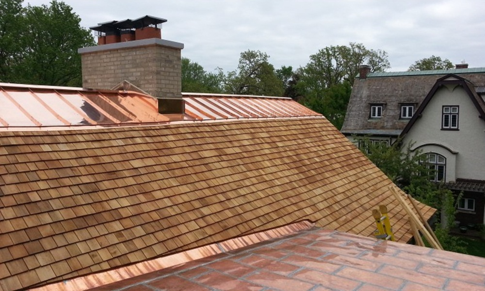 Top Copper Roof Shingles