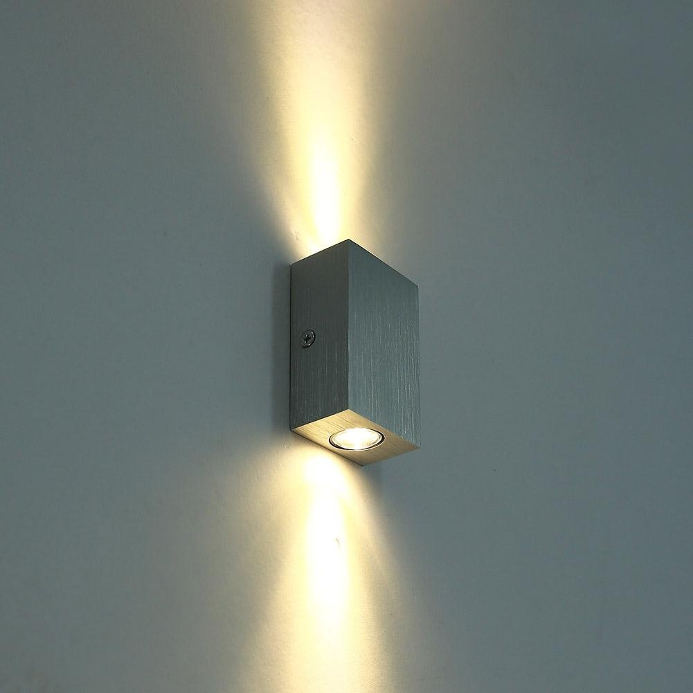 Top Hardwired Wall Sconce