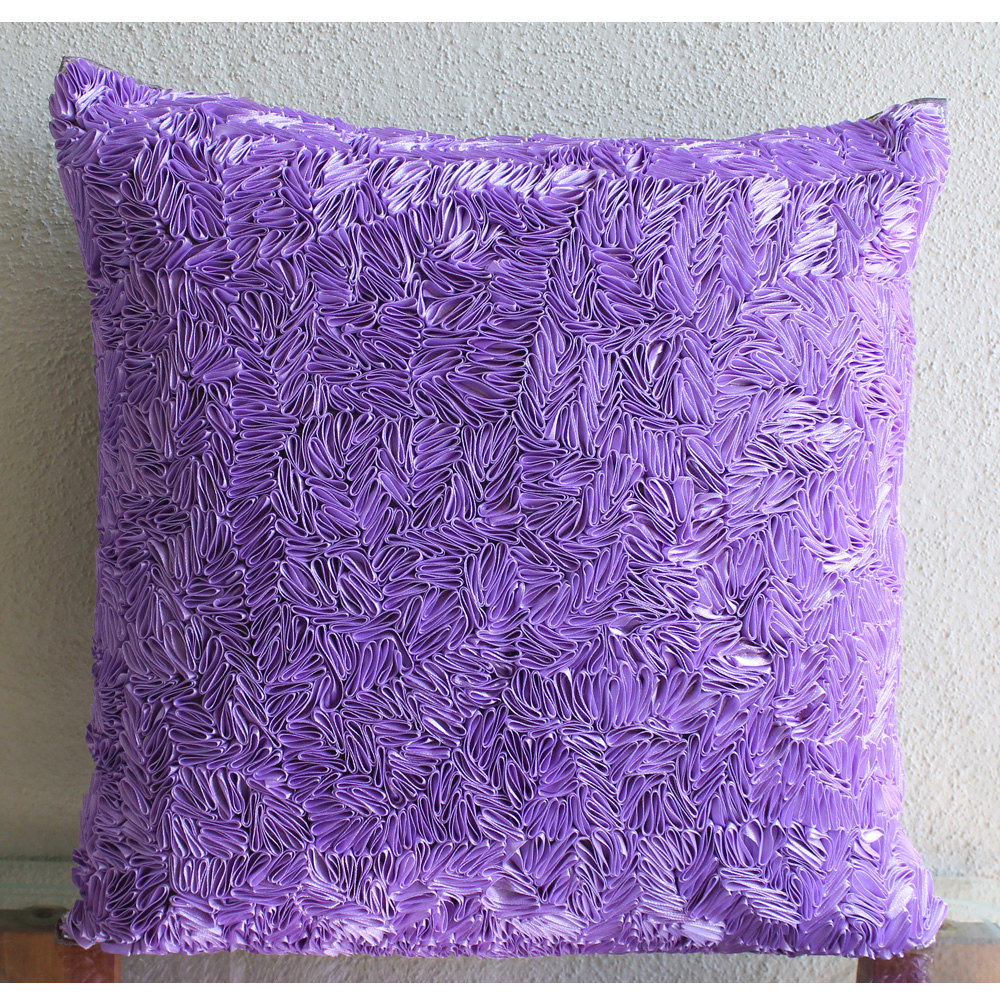 Image of: Top Purple Decorative Pillows