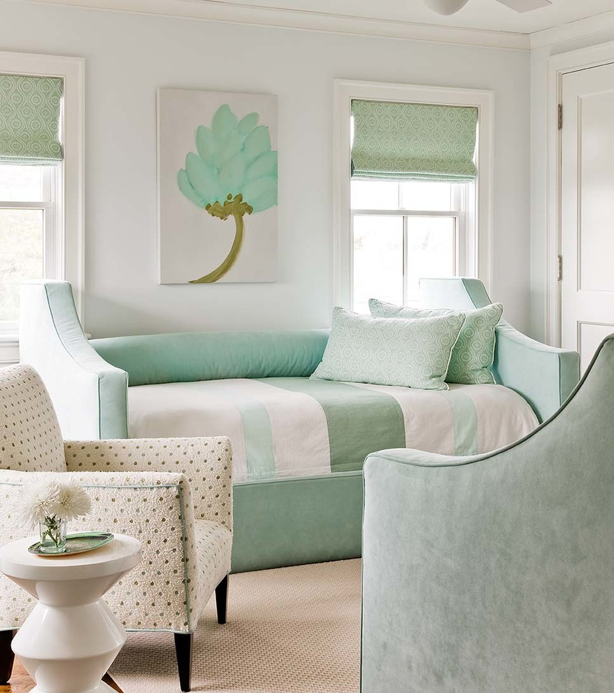 Image of: Transitional Mint Pillows