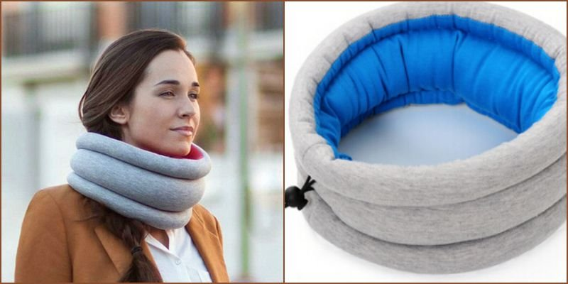 Image of: Travel Neck Pillow Round