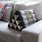 Triangle Pillow Decorative