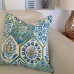 Turquoise Outdoor Pillows Furniture Cushions