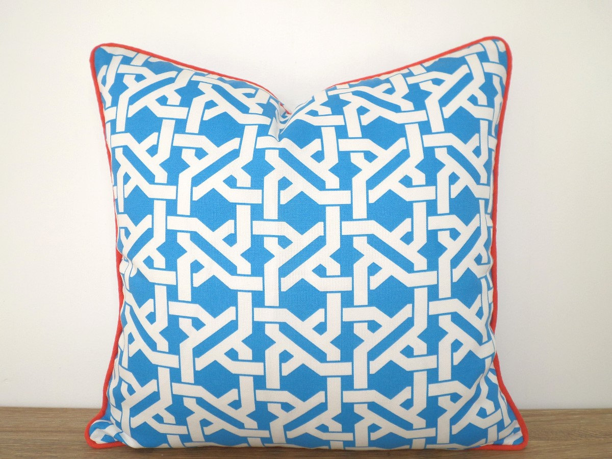 Image of: Turquoise Outdoor Pillows Throw