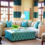 Turquoise Pillows Living Room