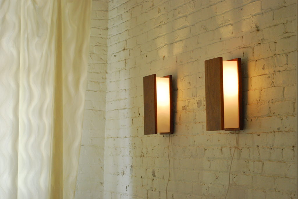Image of: Twin Battery Sconces