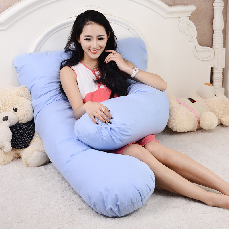 Image of: U Shaped Pregnancy Pillow