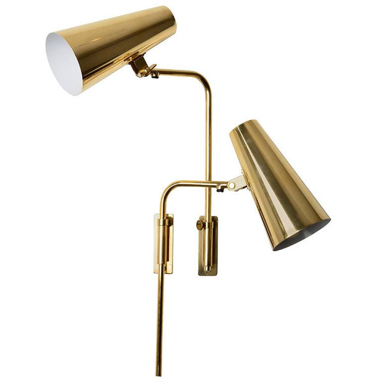 Image of: Unique Adjustable Wall Sconce