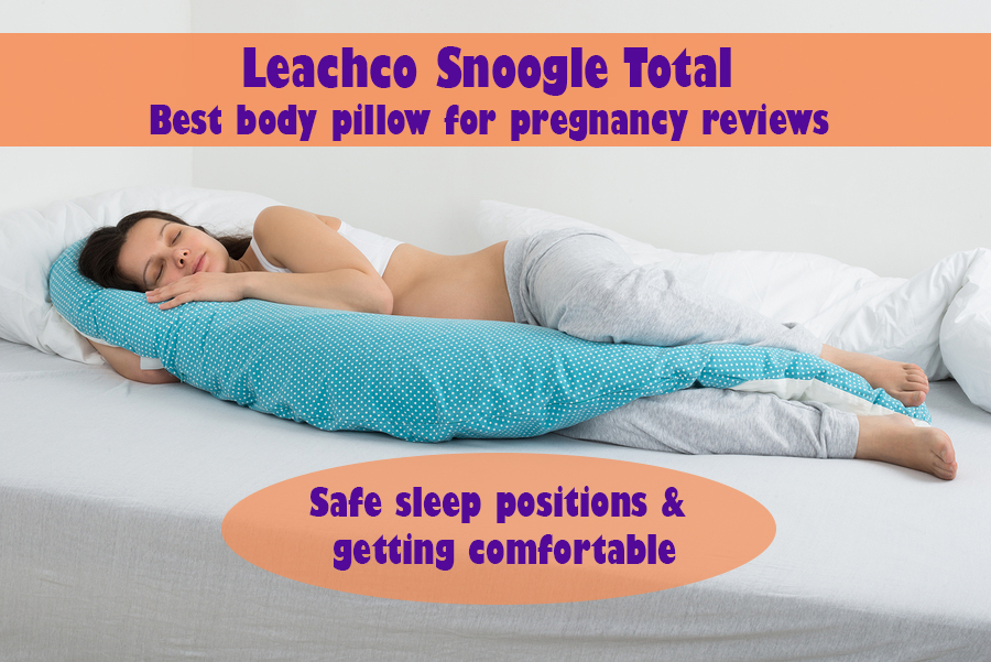 Useful Leachco Snoogle Total Body Pillow