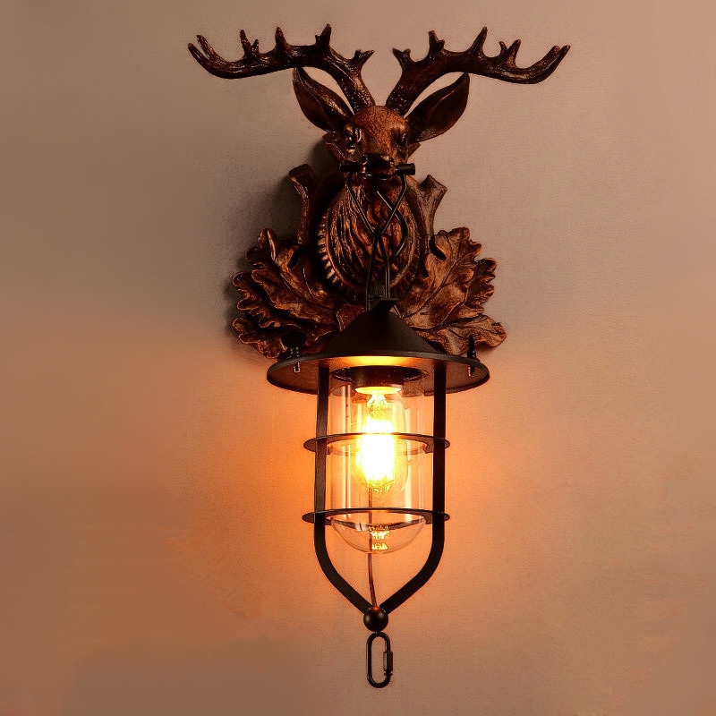 Vintage Antler Sconces