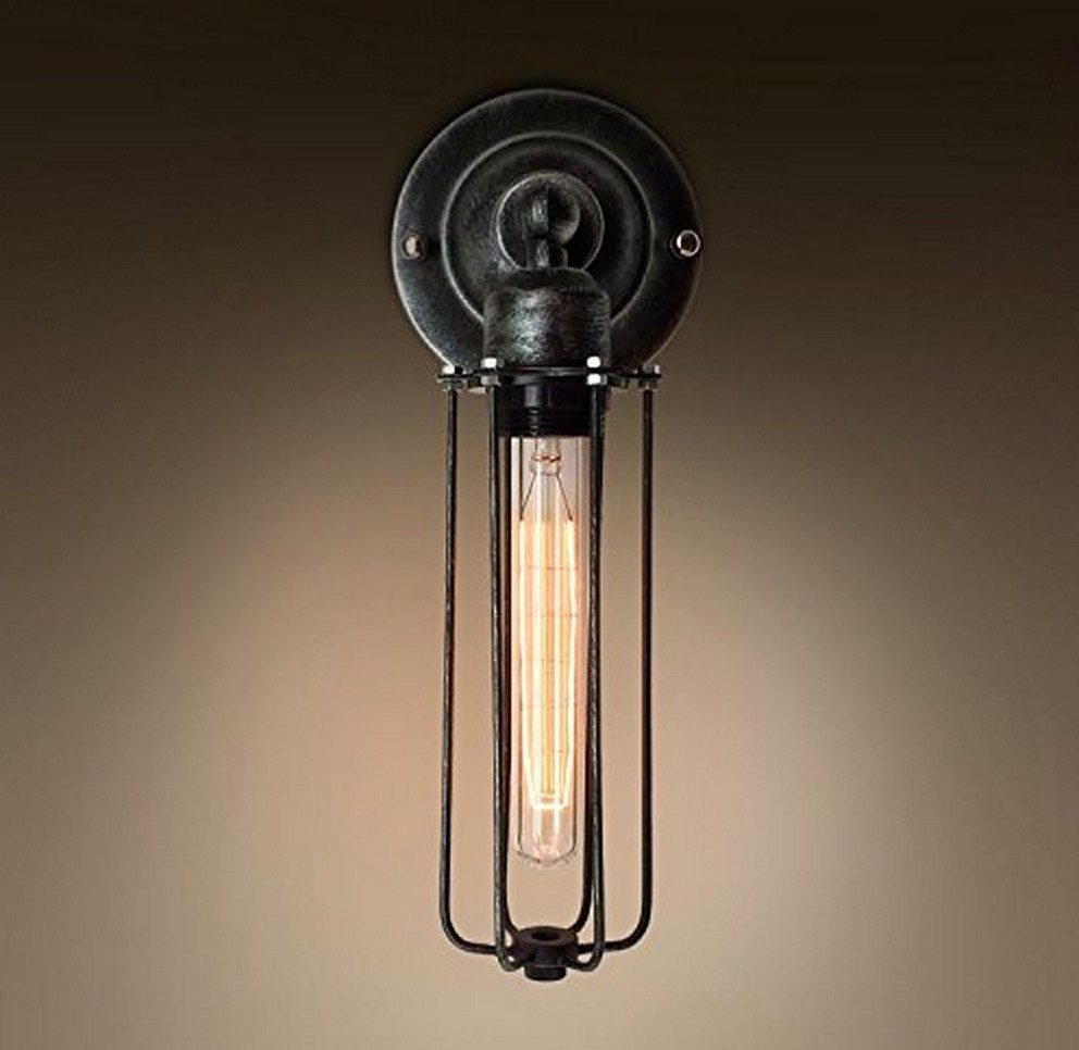 Mini Cage Wall Sconce