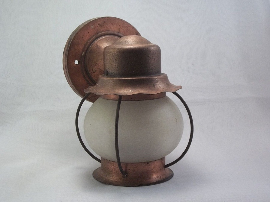 Image of: Vintage Copper Sconce