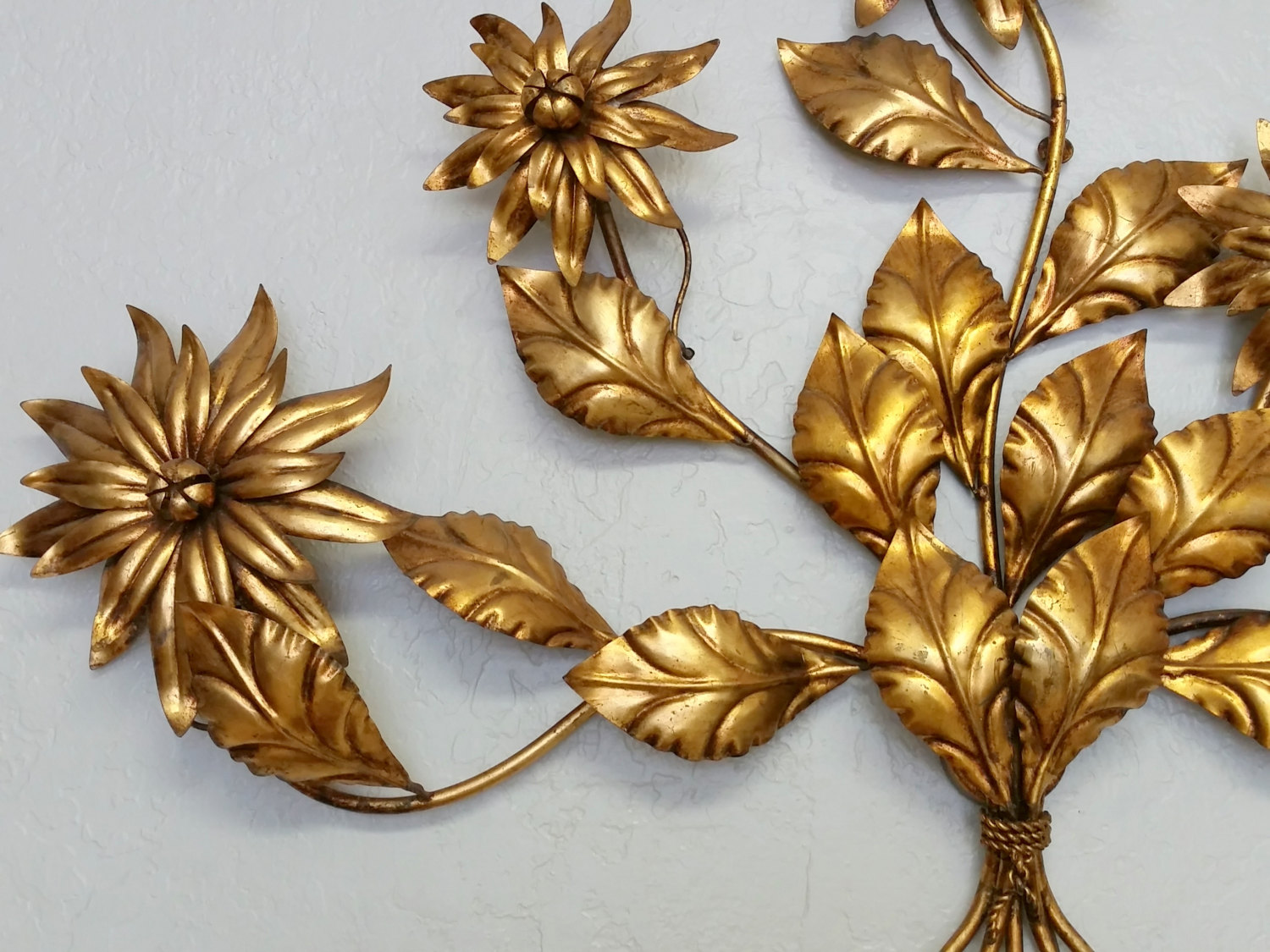 Image of: Vintage Floral Wall Sconces