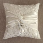 White Ring Pillow