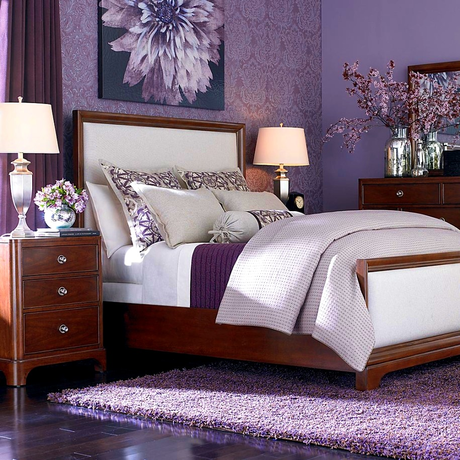 Wonderful Purple Decorative Pillows