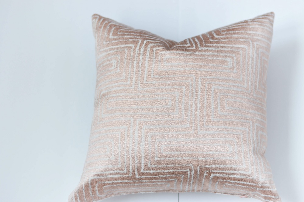 Image of: Wonderful Rose Gold Pillow