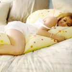 Yellow Maternity Body Pillow