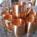 100 Pure Copper Moscow Mule Mugs