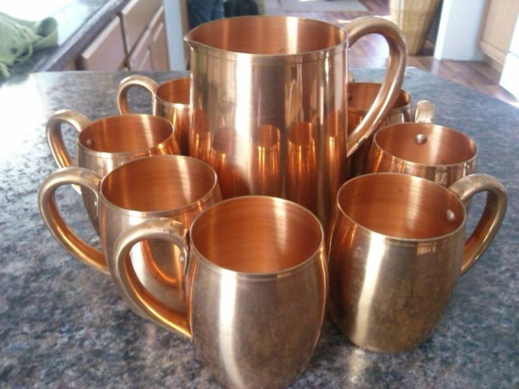Image of: 100 Pure Copper Moscow Mule Mugs