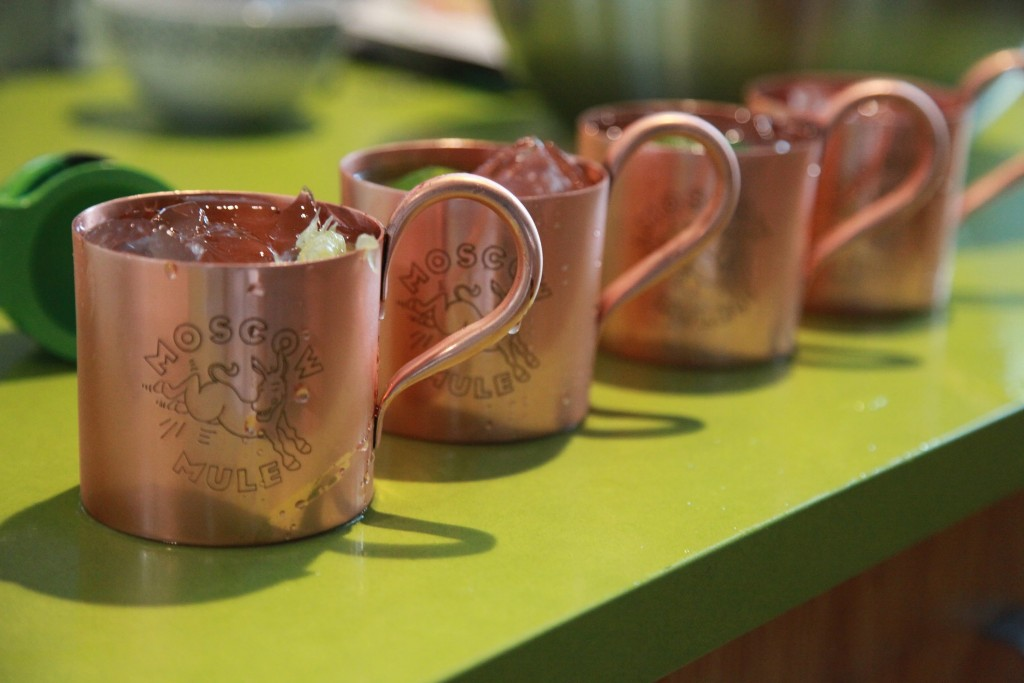 Image of: 16 Oz. Solid Copper Moscow Mule Mugs