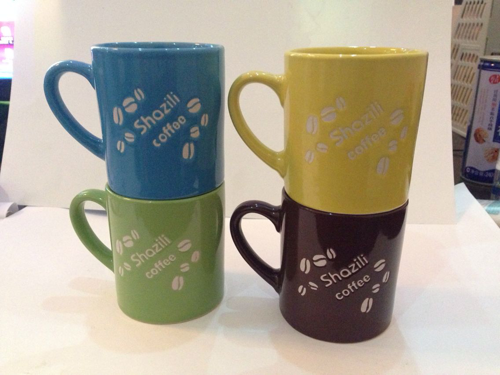 Image of: 4 Stoneware Mugs