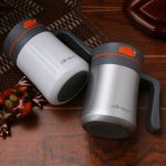 400 Ml Thermos Travel Mug With Handle