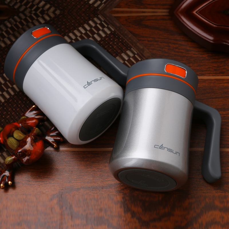 Image of: 400 Ml Thermos Travel Mug With Handle
