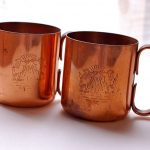 All Copper Moscow Mule Mugs