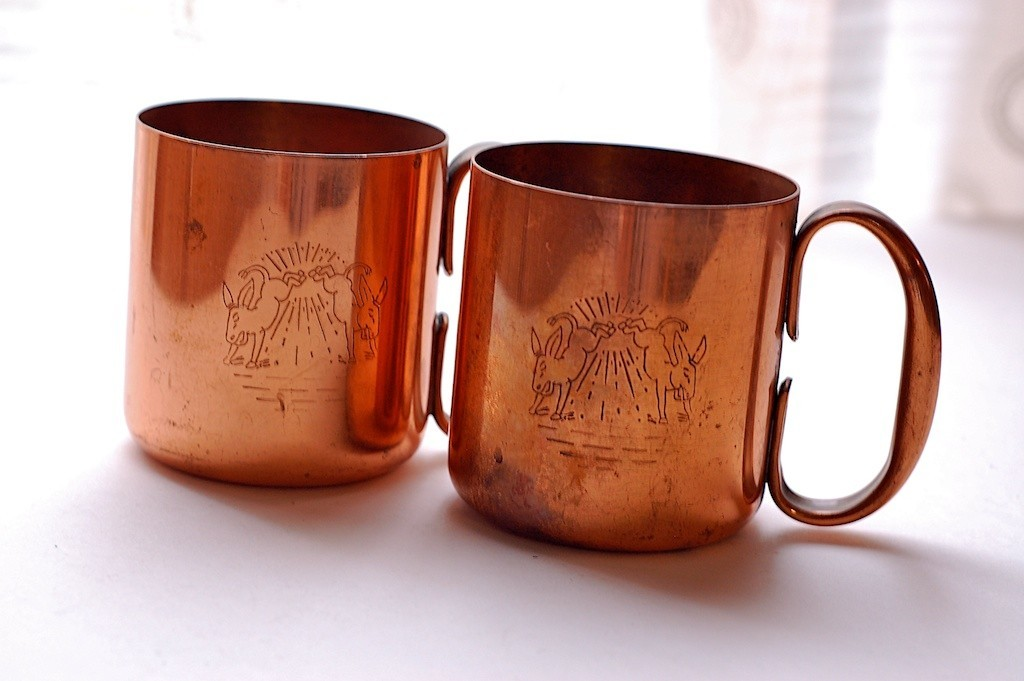 Image of: All Copper Moscow Mule Mugs