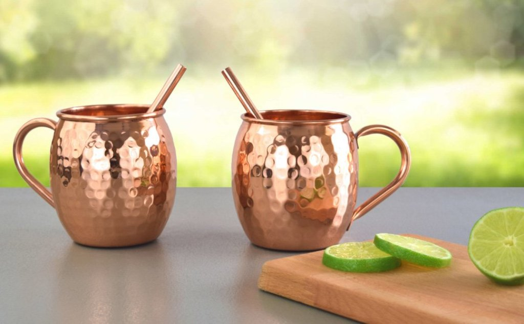 Image of: Are Moscow Mule Mugs Copper on The Inside