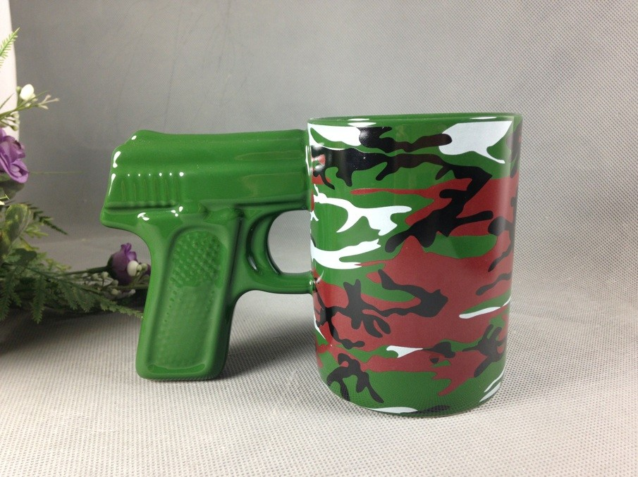 Image of: Army Gun Mug