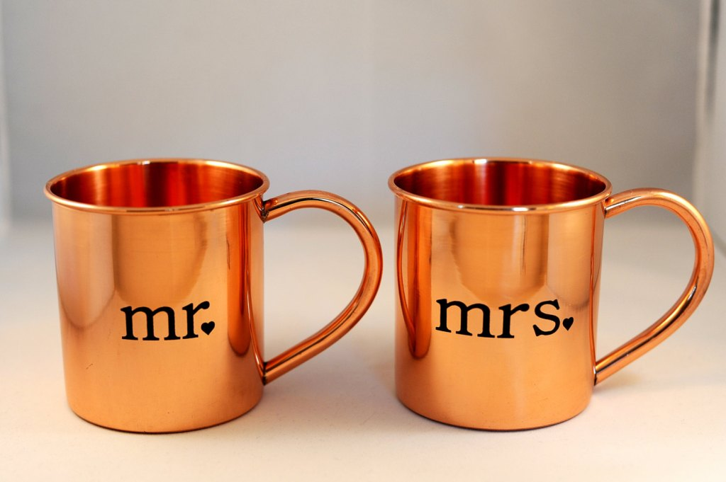 Image of: Authentic Copper Moscow Mule Mugs