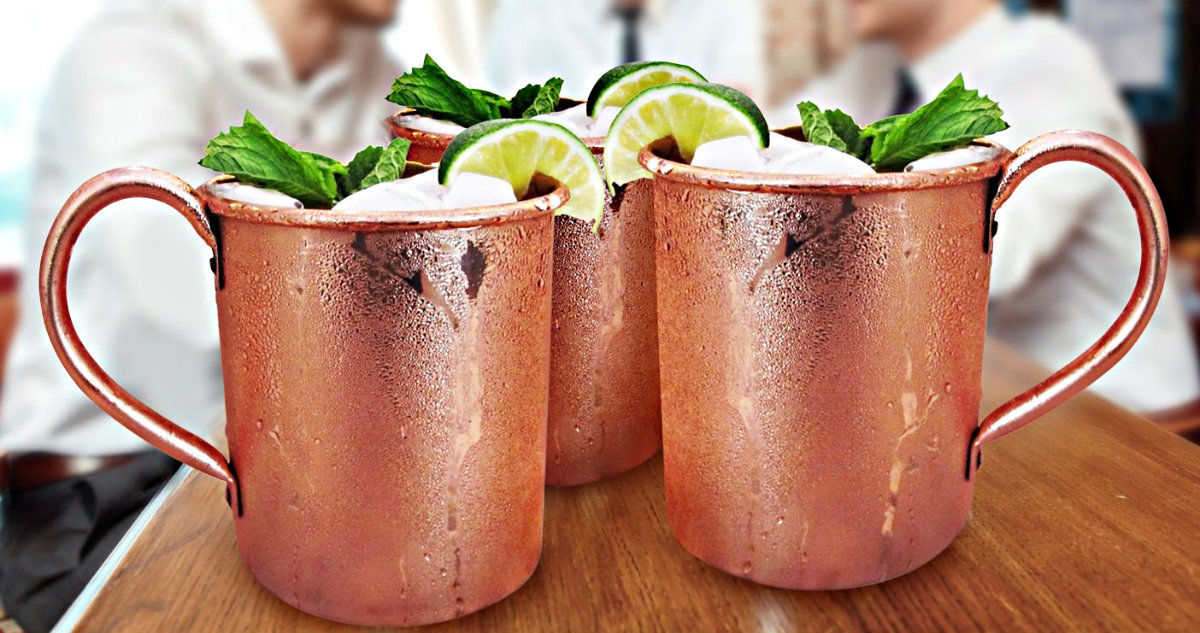 Image of: Authentic Moscow Mule Mugs Design Ideas